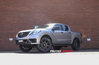 Mazda BT-50 BLADE  OR GLOSS BLACK MILLED
