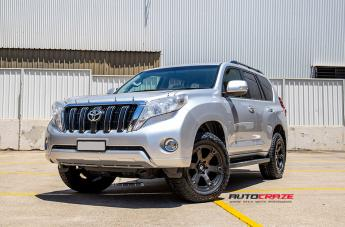 Toyota PRADO BEAST BLACK & MACHINED WITH DARK TINT