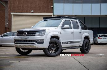 VOLKSWAGEN AMAROK SF11 SATIN BLACK