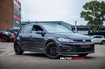 VOLKSWAGEN GOLF TOXIN GLOSS BLACK