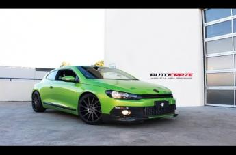 VOLKSWAGEN SCIROCCO SURGE MATTE BLACK TINTED FACE