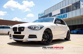 BMW 135I SECTOR SATIN BLACK  small