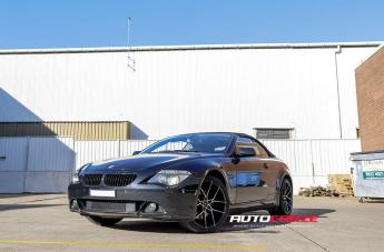 BMW 6 SERIES IFG39 BLACK MACHINED FACE