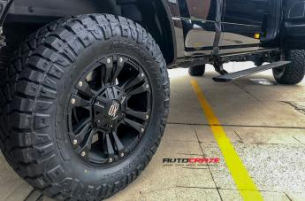 FORD F250 MONSTER XD 2 MATTE BLACK  small