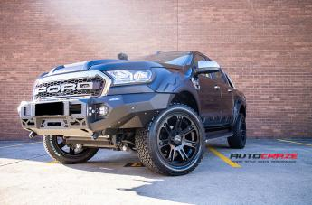 FORD RANGER HE904 SATIN BLACK  small