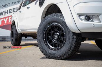FORD RANGER BULLY XD SATIN BLACK  small