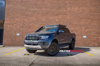 Ford RANGER GRENADE OR MATTE BRONZE WITH MATTE BLACK LIP