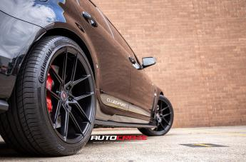 HOLDEN COMMODORE HSV CLUBSPORT R8 IFG 39 BLACK  small
