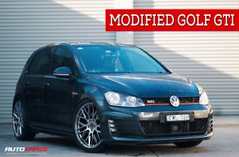 VOLKSWAGEN GOLF HOCKENHEIM HYPER BLACK