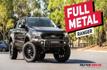 Ford RANGER SLEDGE MATTE BLACK