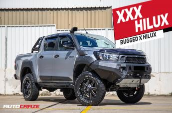 Toyota HILUX 4WD MAVERICK GLOSS BLACK MILLED ACCENTS