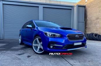 Subaru LEVORG MILAN SILVER MACHINED FACE