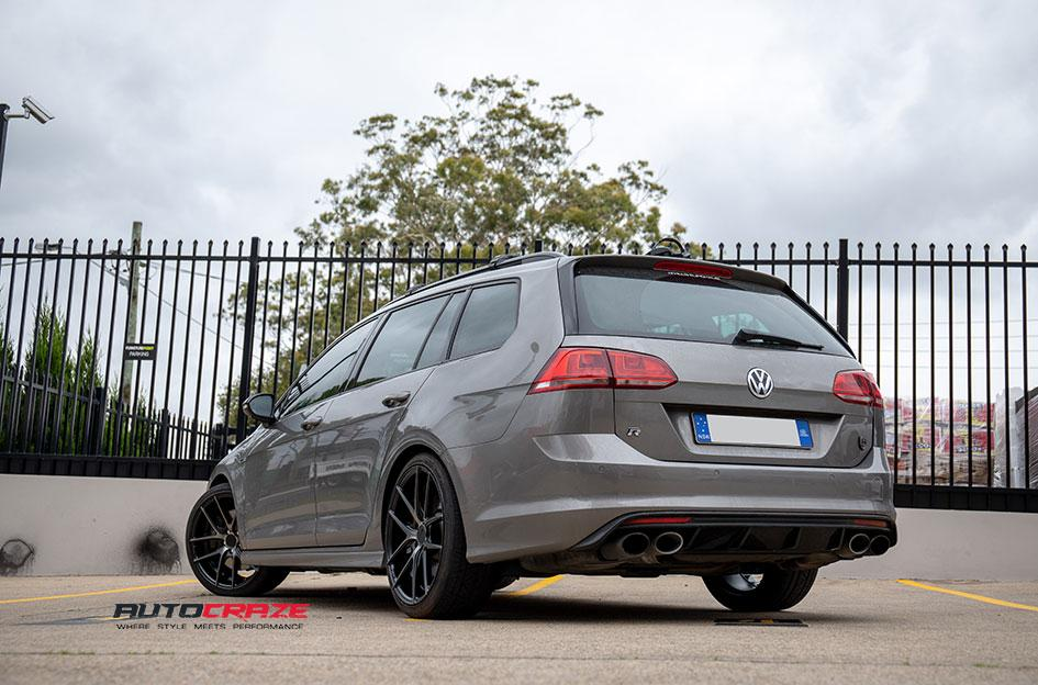 VOLKSWAGEN GOLF TARGA BLACK MACHINED FACE
