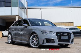 Audi RS3 IFG 38 SILVER