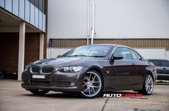 BMW 335I IFG39 SILVER MACHINED FACE