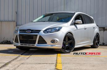 FORD FOCUS  5 STUD  FRC FLAT BLACK  small