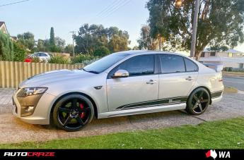 Ford FALCON IFG 8 FLAT BLACK