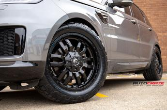 RANGE ROVER SPORTS SLEDGE MATTE BLACK  small
