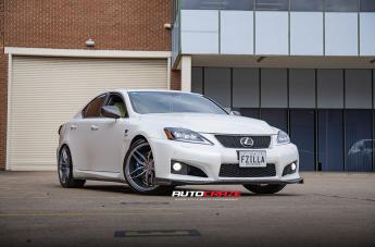 Lexus ISF IFG 37 SILVER
