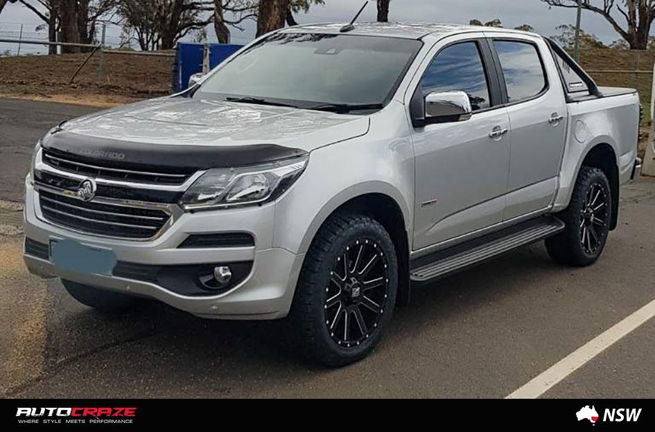 HOLDEN COLORADO HEIST SATIN BLACK MILLED