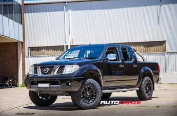NISSAN NAVARA ADDICT MATTE BLACK  small