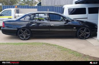 HOLDEN STATESMAN FRCS MATTE BLACK MILLED ACCENTS  small