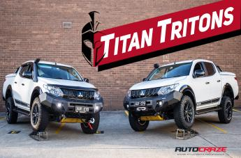 Mitsubishi TRITON 4X4 ACCESSORIES