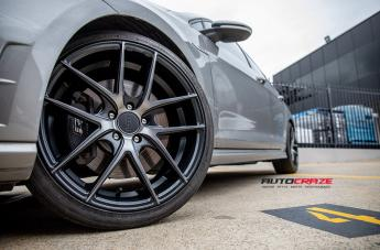 VOLKSWAGEN GOLF TARGA BLACK MACHINED FACE  small