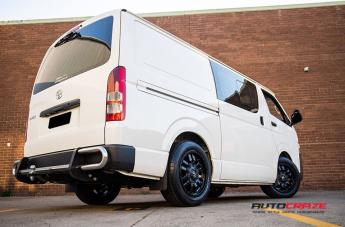 TOYOTA HIACE SLEDGE MATTE BLACK  small