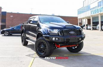 Ford RANGER RENEGADE V2 MATTE BLACK