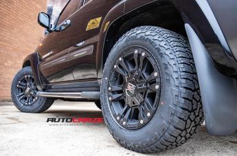 JEEP CHEROKEE MONSTER XD 2 MATTE BLACK  small
