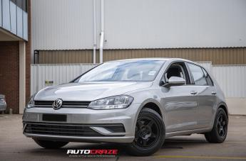 VOLKSWAGEN GOLF MR137 SATIN BLACK