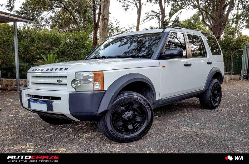 Land Rover Discovery Rockstar Xd 2 Matte Black Car