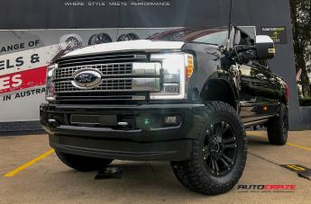Ford F250 MONSTER XD 2 MATTE BLACK