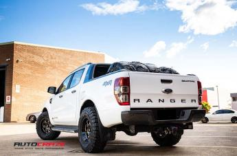 FORD RANGER AR926 PATROL GLOSS BLACK MILLED  small