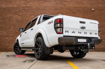 FORD RANGER AVALANCHE GLOSS BLACK MILLED ACCENTS  small