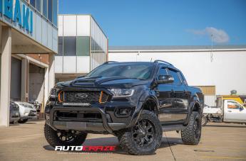 Ford RANGER HURRICANE MATTE BLACK