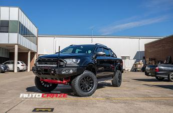 Ford RANGER MISSION MATTE BLACK MACHINED TINTED SPOKES