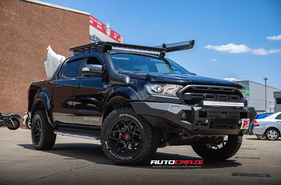 FORD RANGER SABBATH MATTE BLACK