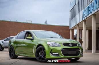 Holden COMMODORE STAGE MATTE BLACK