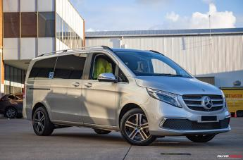 Mercedes V250D LIBERATOR GLOSS BLACK MACHINED FACE