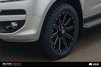 HOLDEN COLORADO HEIST SATIN BLACK MILLED  small