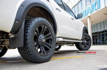 NISSAN NAVARA MONSTER XD MATTE BLACK  small