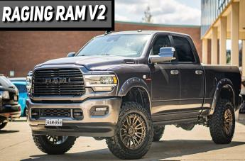 Dodge RAM REBEL MATTE BRONZE BLACK LIP
