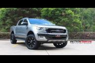 Ford RANGER NUTZ GLOSS BLACK MILLED ACCENT