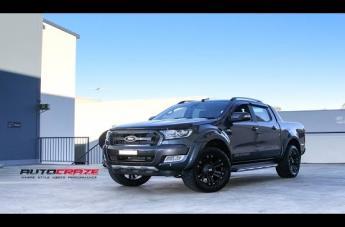 Ford RANGER MONSTER XD MATTE BLACK