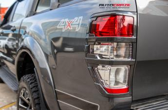 FORD RANGER ASSAULT GLOSS BLACK MILLED ACCENTS  small