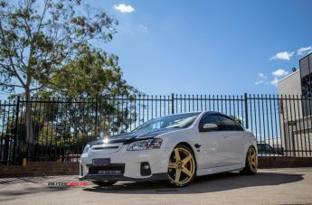 HOLDEN COMMODORE FRCS GOLD  small