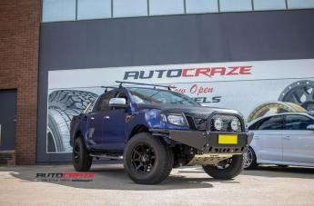 Ford RANGER T05 SATIN BLACK