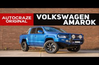 VOLKSWAGEN AMAROK GD01 GRAPHITE MILLED ACCENTS WITH CHROME INSERTS